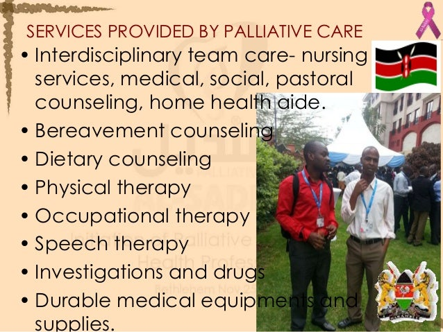 palliative care patient and family counseling manual