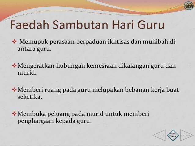 Sambutan Hari Guru Info