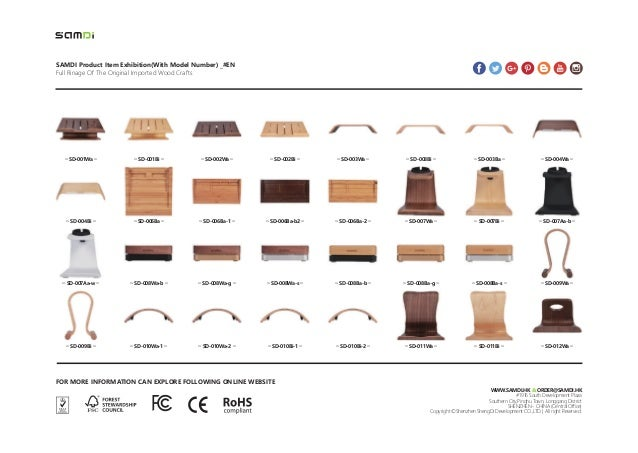 SAMDI Product Item Exhibition(With Model Number) _#EN Full Rinage Of The Original Imported Wood Crafts FOR MORE INFORMATIO...