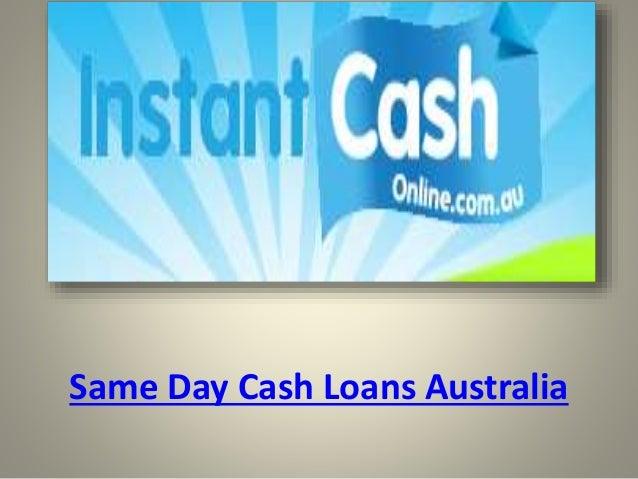 Same day cash loans australia