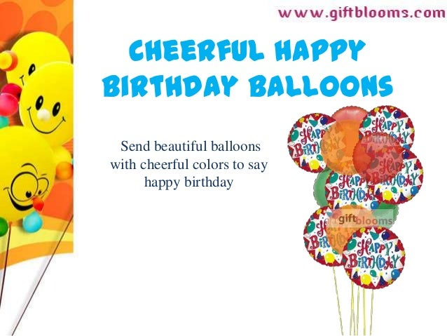 Balloon Delivery On The Same Day