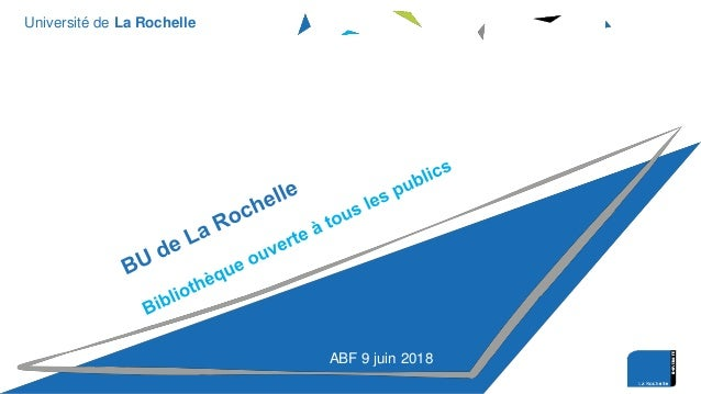 Université de La Rochelle ABF 9 juin 2018