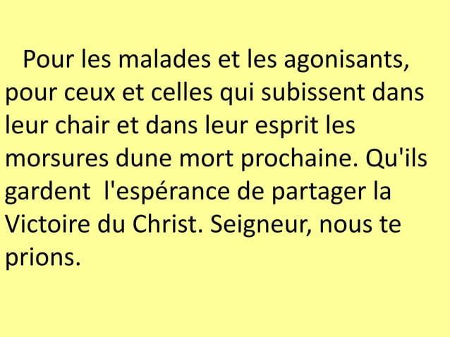 Agneau de Dieu, vainqueur du mal, sur toi repose l'Esprit Saint. Prends pitié de nous.