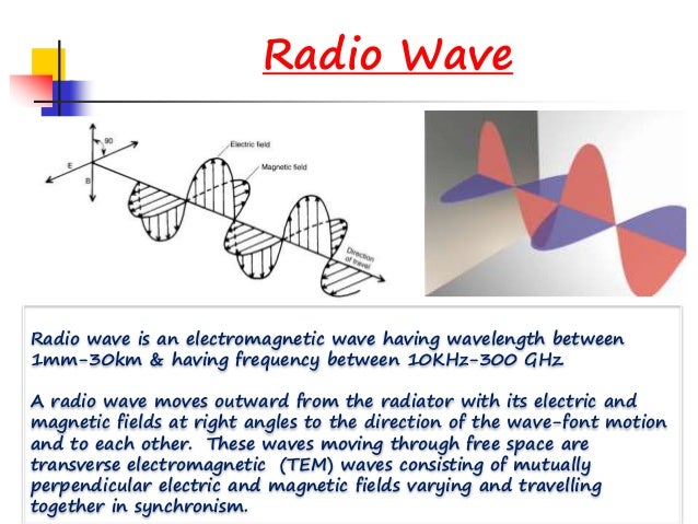 Radio Frequency Waves ,Data communication & Networks