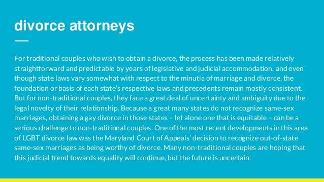 Same sex divorce attorneys Slide 2