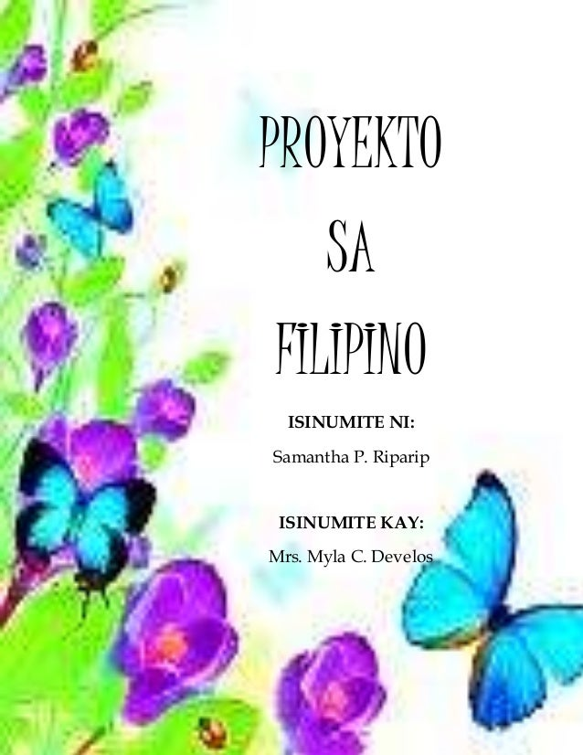 proyekto sa filipino Proyekto sa filipino 177 likes 8 talking about this personal blog.