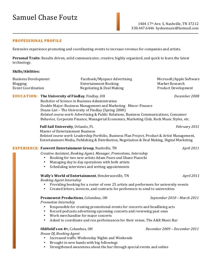 sam foutz resume