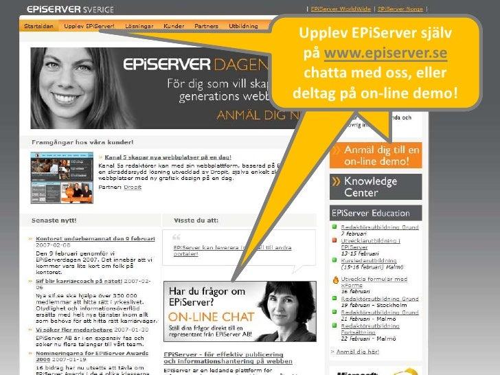 Sami Grahn Nyfiken Pa EPiServer