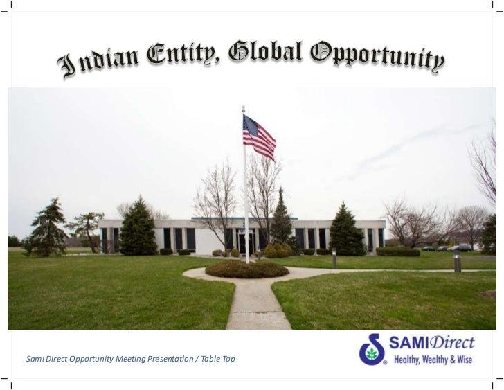 Samidirect business plan