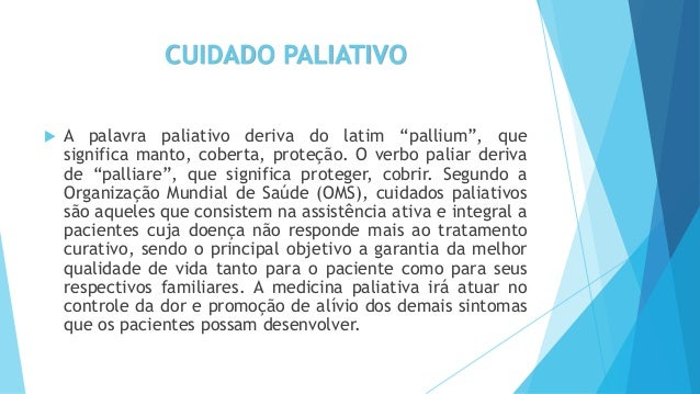 Inicio dos cuidados Paliativos no Brasil e a importância