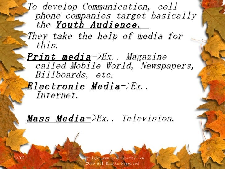 marketing mix and the brand reputation of nokia Nokia's marketing mix has worked very well until recently as the market they are aiming at has become more and more saturated and after looking at all the mobile phone sales figures, it looks as if the phone companies can aim at this same youth market for about another 2 years until they.