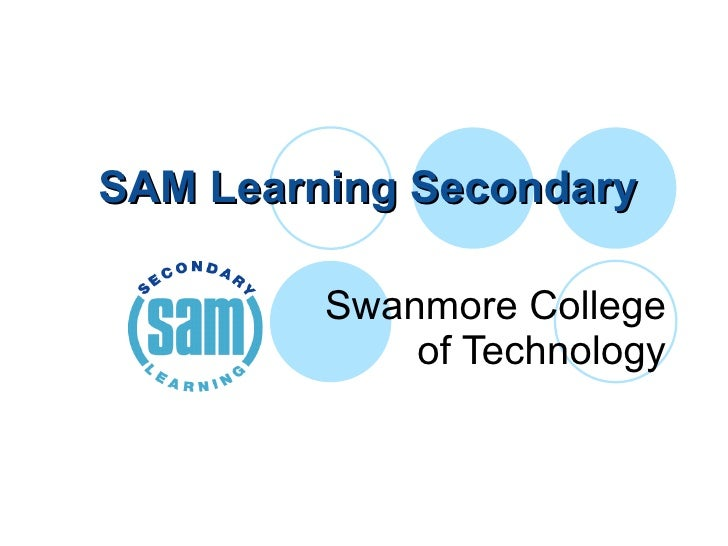 SAM Learning Secondary  Swanmore College of Technology