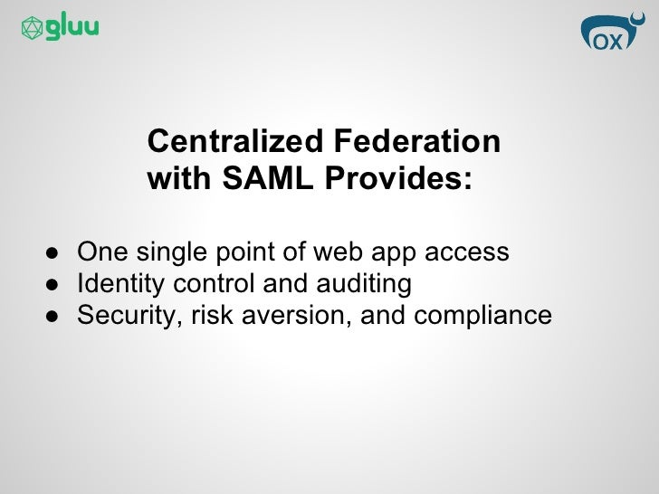 how to study and learn saml Security assertion markup language (saml, pronounced sam-el [1])  tutorial video: ten things you need to know about saml how to study and learn saml.