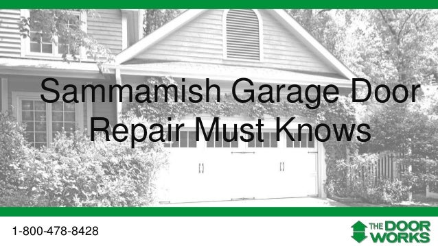 sammamish garage door repair garage door repair