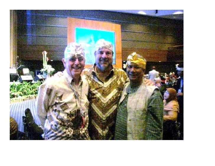 Sam Daley-Harris, Marty Jenkins, Muhammad Yunus