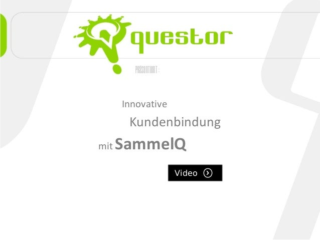 präsentiert: Innovative Kundenbindung mit SammelQ Video