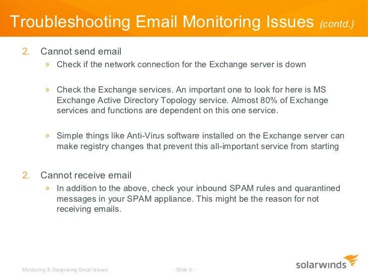 How-To: Monitoring & Diagnosing Email Issues