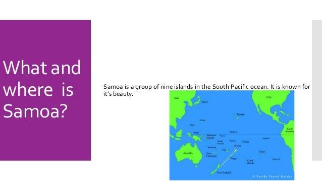 Samoa - Where is samoa