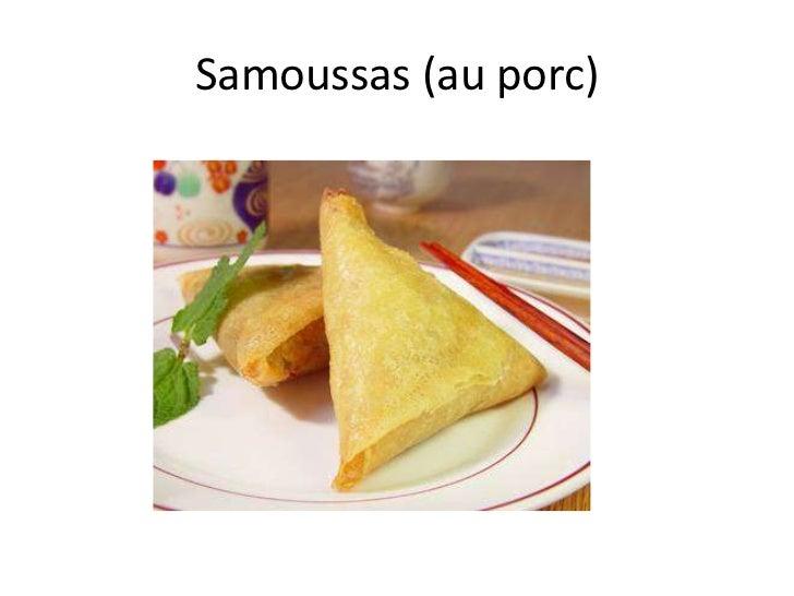 Samoussas (au porc)<br />