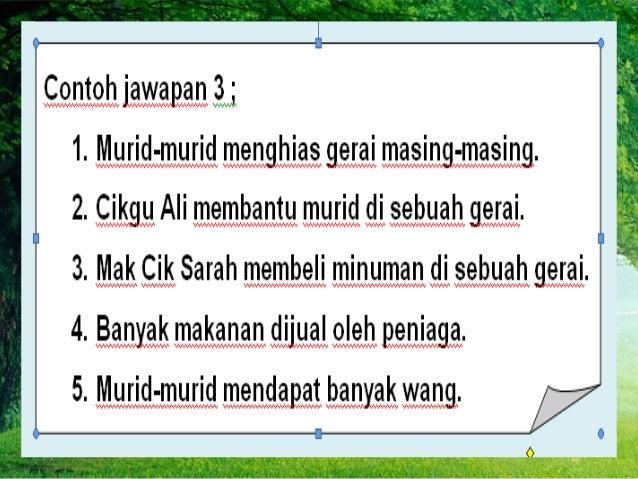 Latihan Pengukuhan Kertas Penulisan Bahasa Melayu UPSR