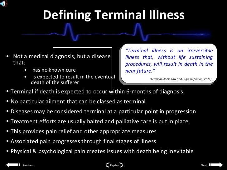 what does terminal disease mean