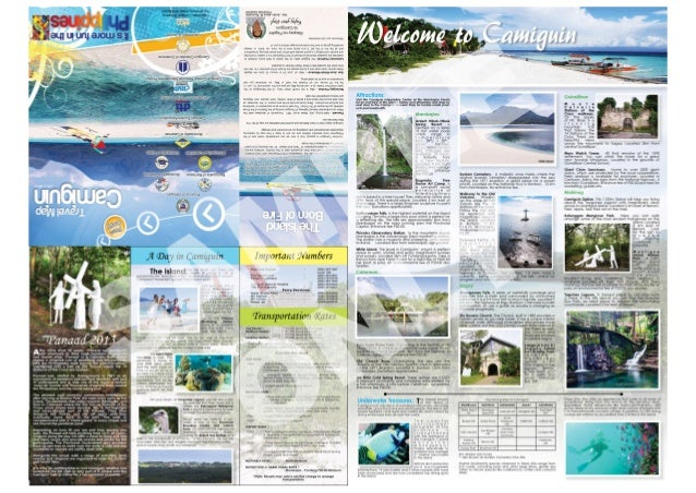 Camiguin Travel Map 2nd Edition