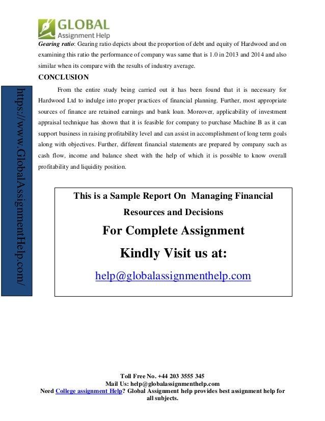 industry average financial ratios free