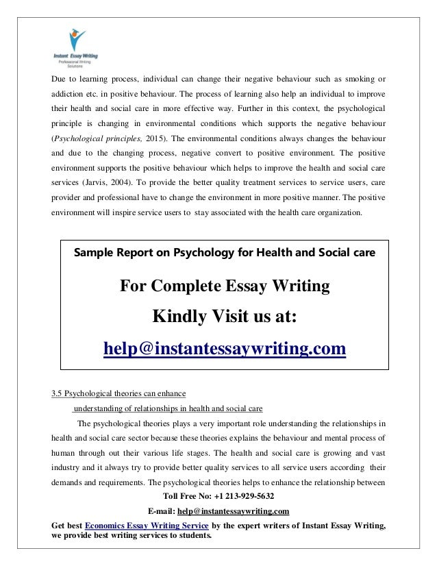 Ideas For A Compare And Contrast Essay  How To Write An Abstract For An Essay also Essays On Gay Marriage Sample On Psychology For Health And Social Care By Instant Essay Writ House Description Essay