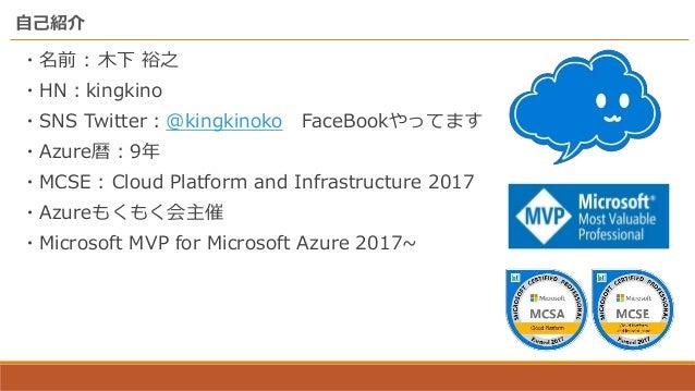 Azureもくもく会@東京のいままでとこれからと Slide 2