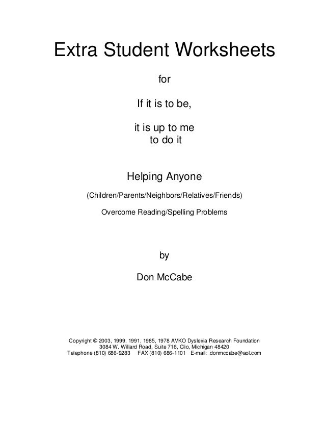 Sample 717-extra-worksheets-if-it-is-to-be-it-is-up-to-me-to-do-it