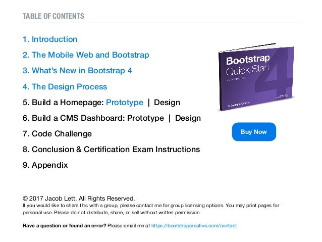Tutorial bootstrap pdf full