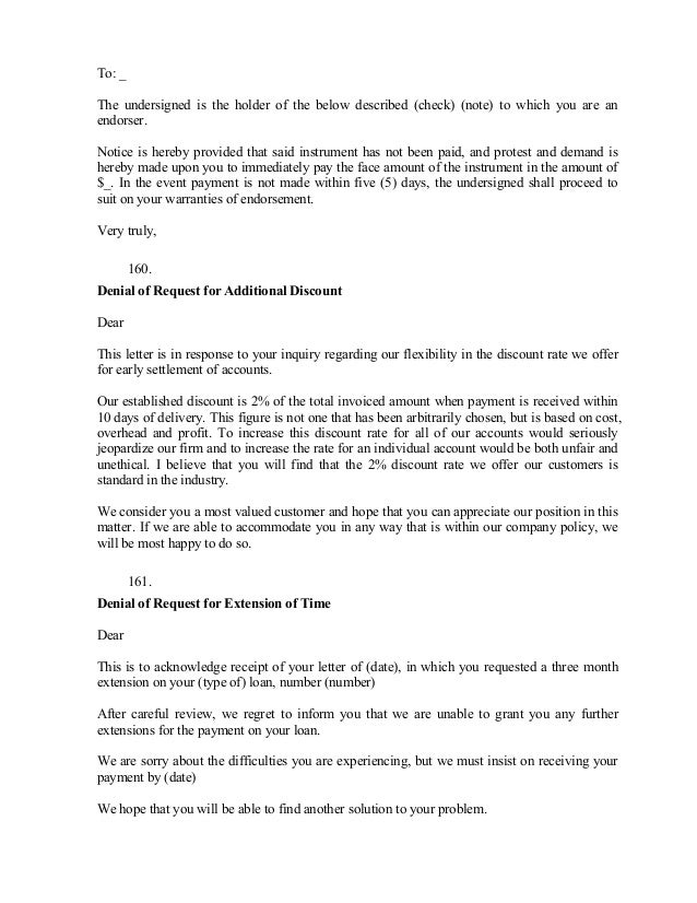 Inform Letter Business Proposal Rejection Letter In Doc