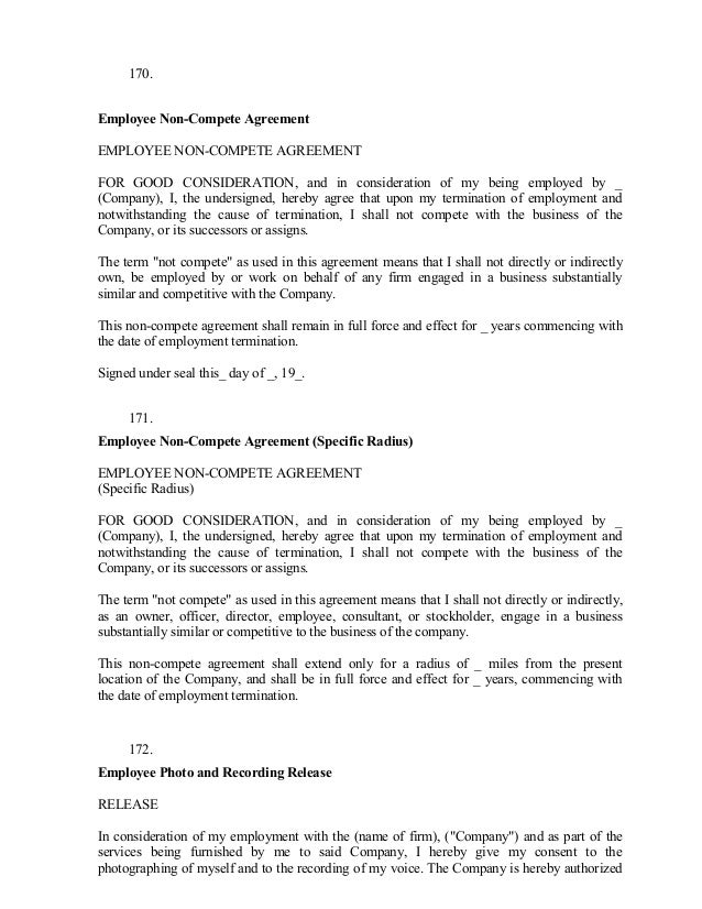 Employment Release Agreement Printable Sample Release And Waiver Of
