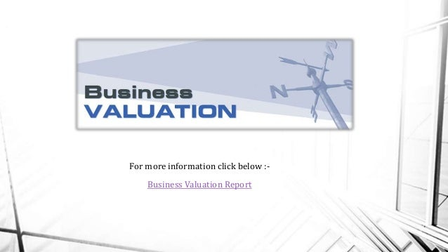 Sample business appraisal report