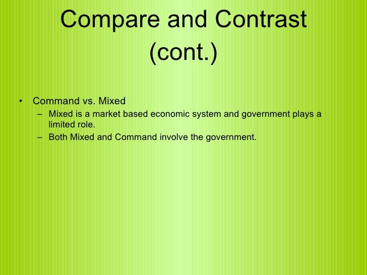 market economy vs command economy essay Free term papers & essays - market economy vs command economy, ec.