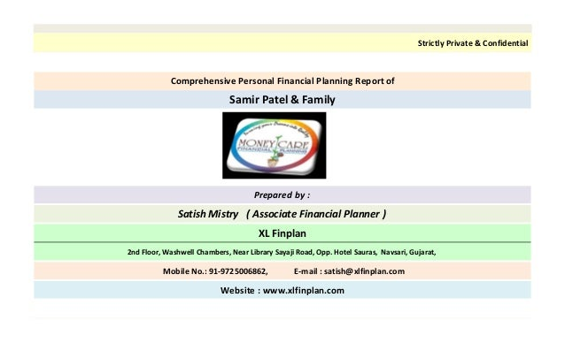 finance planner excel