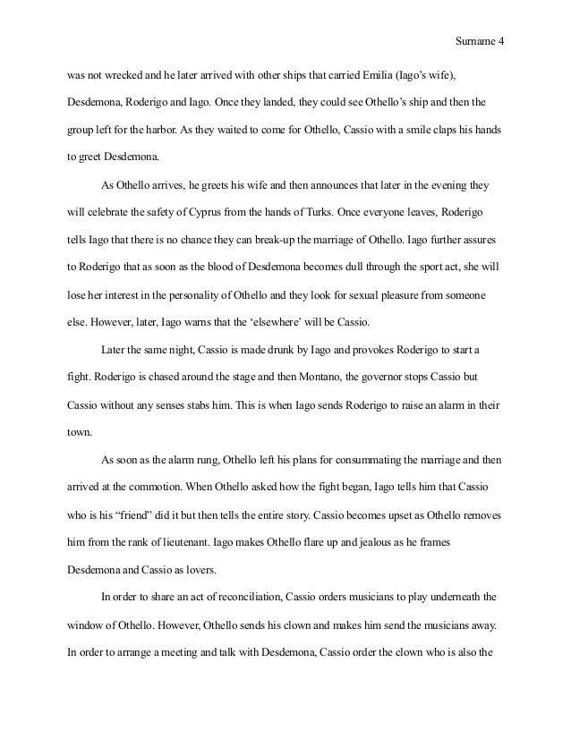 othello s tragedy essay example View this research paper on othello the tragedy of internalized racism william william shakespeare's tragedy of the moor othello is the only major drama of.