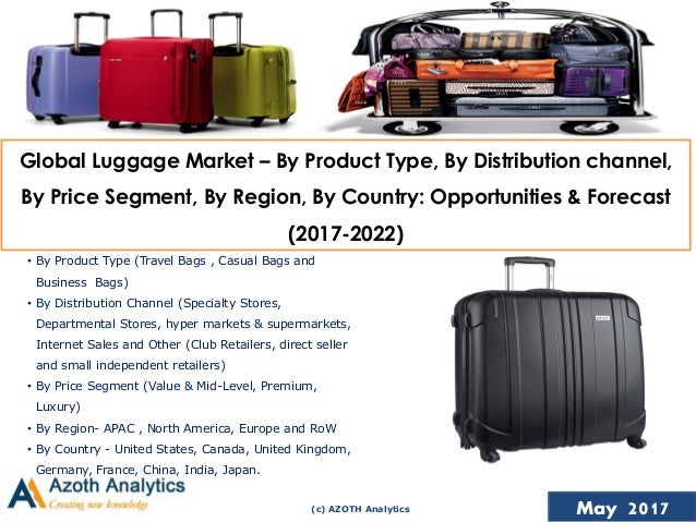 Global Luggage Market – Opportunities and Forecasts (2017-2022)