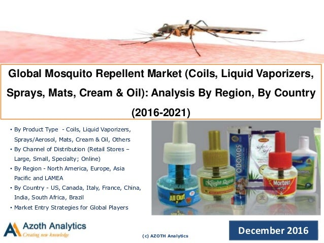 Global Mosquito Repellent Market Trends Opportunities And Forecasts