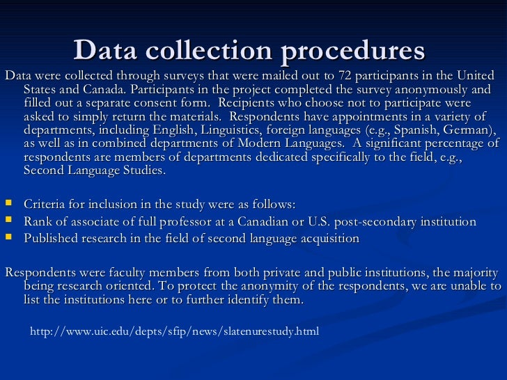 data collection procedure in research methodology (vi) research involves gathering new data from primary or first-hand sources or using existing data for a new purpose (vii) research is characterized by carefully designed procedures that.