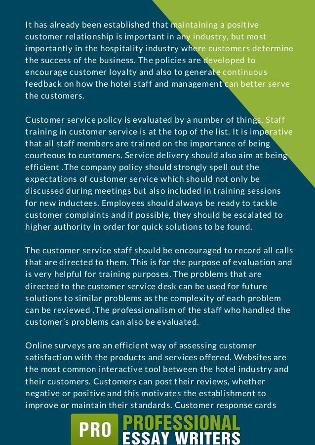 Service Management - Term Paper