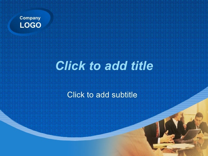 Click to add title Click to add subtitle