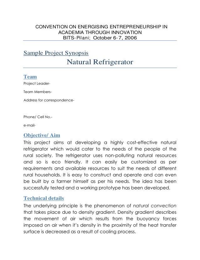 sample dissertation outline bits pilani