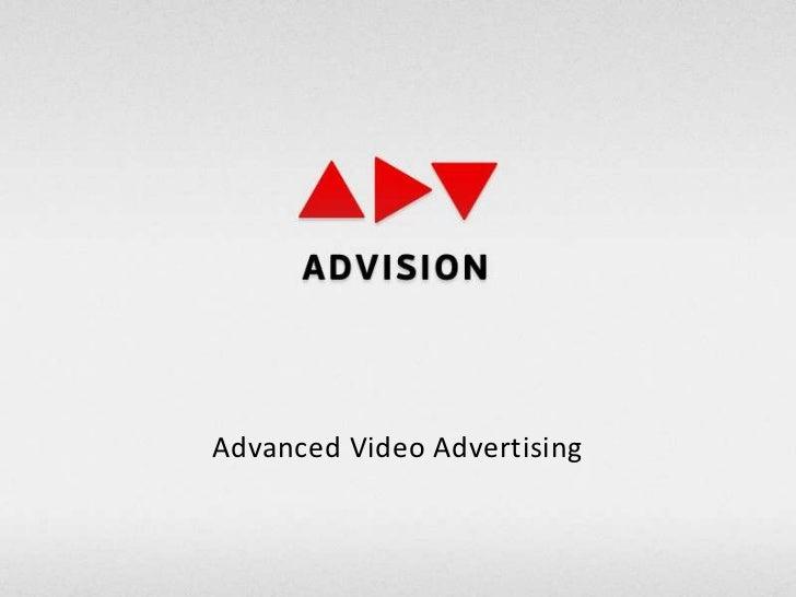 Advanced Video Advertising