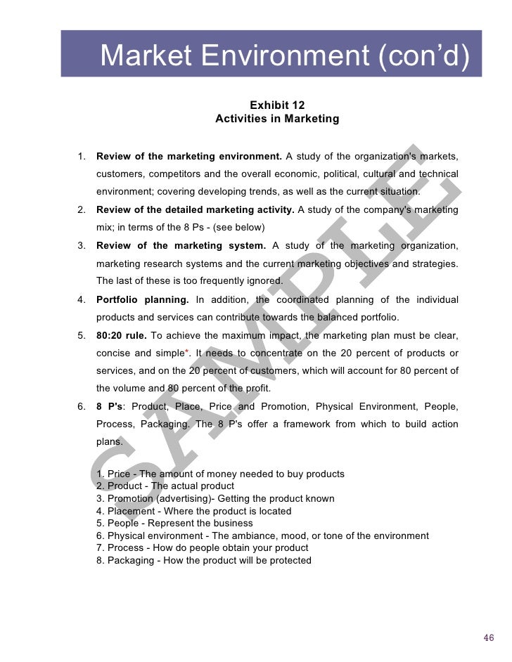 Sample2 Report Business Assessment