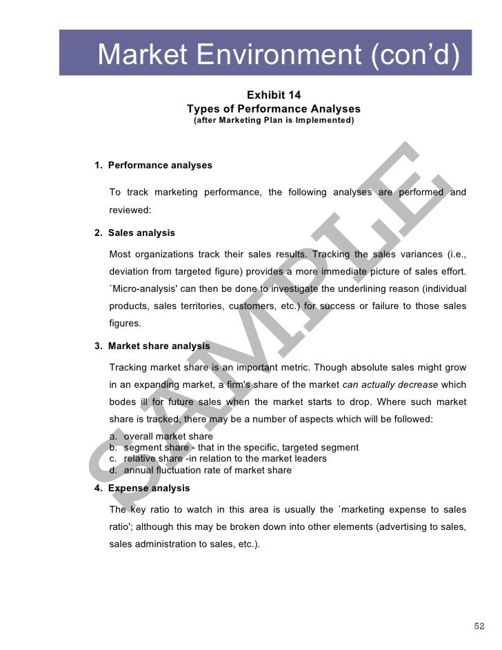 Sample2 Report Business Assessment – Sample of Business Report
