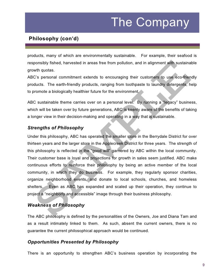 formal business report – Sample Formal Business Report