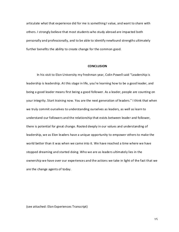 example of leadership essay leadership essay topicsjpg  openness to experience leadership essay image 4 example of leadership essay