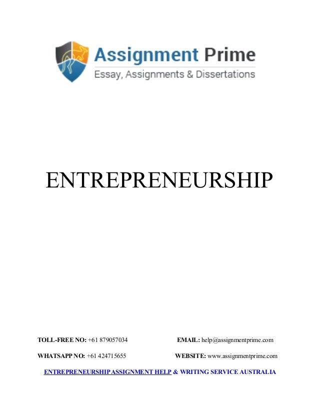 entrepreneurship essay
