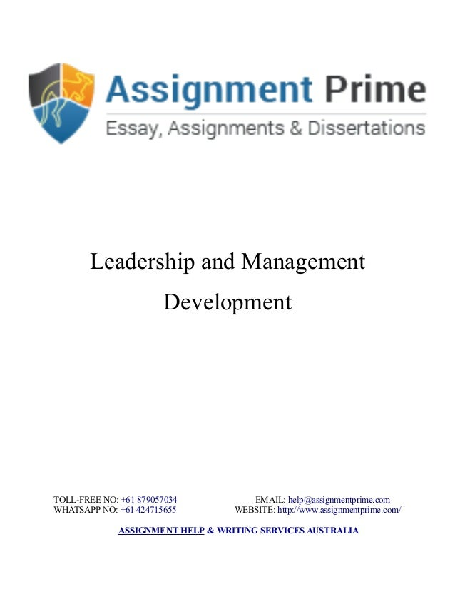 management development essay papers